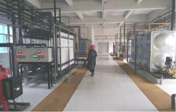 大唐韩城第二发电有限责任公司(反渗透+超滤)水处理工程